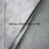 High Quality Embroidery Sofa Fabric , Embroidery Suede With TC backing