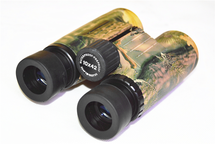 SPINA OPTICS 10x42 Night Vision Binoculars With Camouflage Color