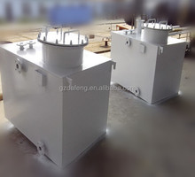 Factory sales customized above ground square oil/fuel/petrol/ storage tank