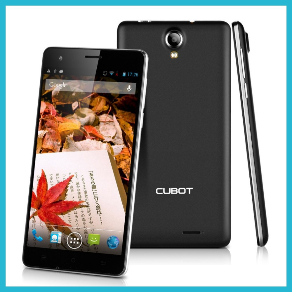 small chinese mobile phones Cubot S222 MTK6582A resolution1280 x 720 pixels 5.5inch screen unlocked 3g phone