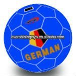 PVC stuffed soft soccer ball toy