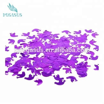 Customized party popper confetti