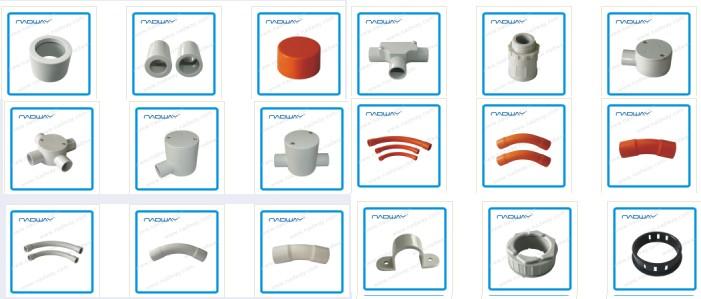 Plastic Pvc Electrical Conduits Fittings Reducer Buy Pvc
