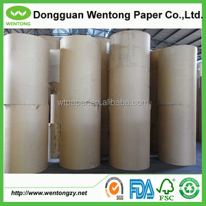 80gsm brown extensible sack kraft paper for making shopping bags