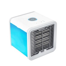 ขายแบบพกพา Mini USB Arctic Air Conditioner DC 5 V USB รถ Mini Evaporative Air Cooler 3 ความเร็ว 375 ml
