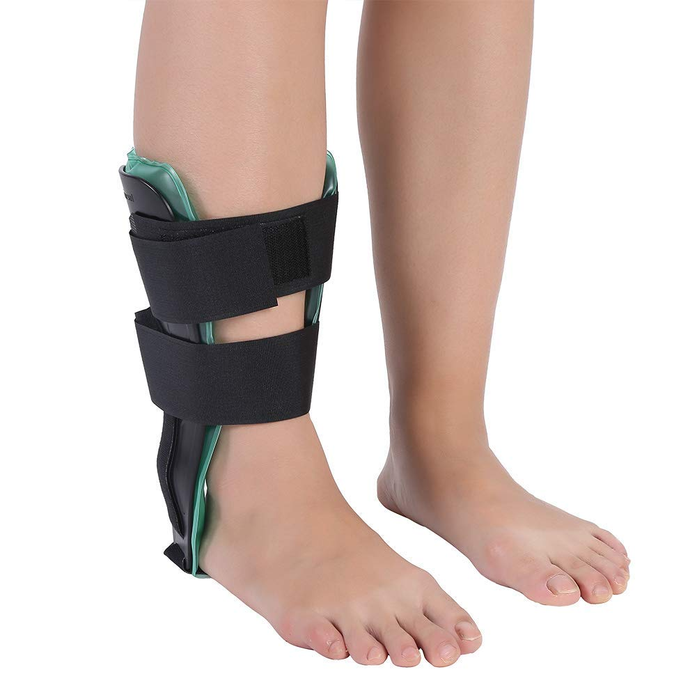 Gel Ankle Brace Support Ankle Stabilizer Compression Wrap Support and Foot Protector for Tendonitis, Sprained Ankles, Running Sports, Soccer, Football, Volleyball and Basketball - Men and Women