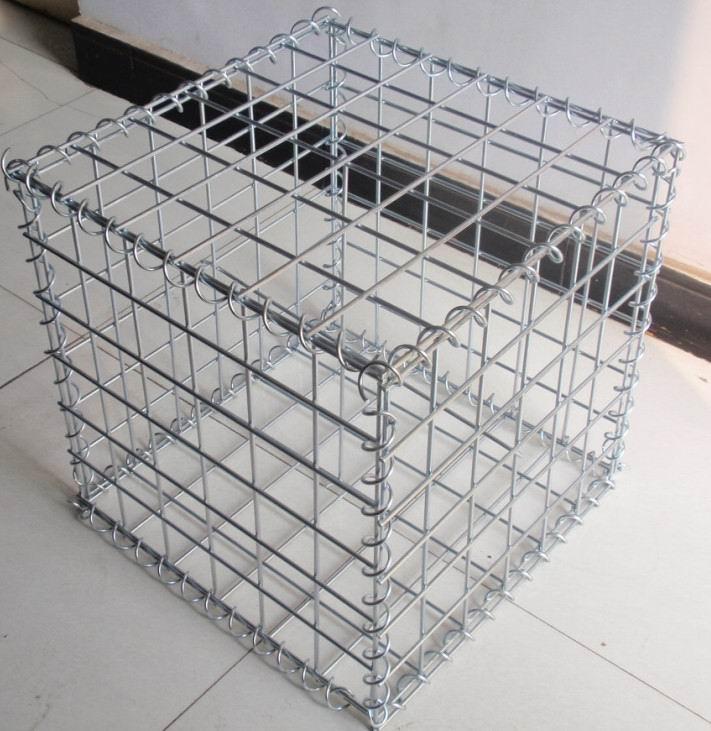 Hot Dip Galvanized Wire Mesh Gabion Box For Bird Cages Or Garden ...