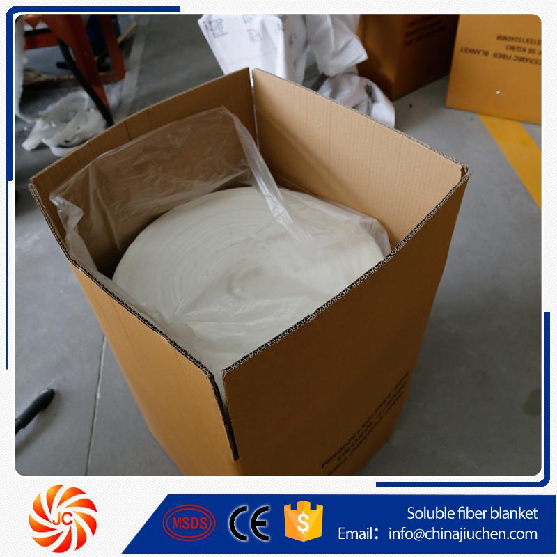 "Ceramic Fiber Blanket 2300F 8# High Temp Thermal Insulation 2/""x24/""x12.5/'"