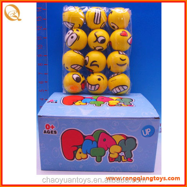 PU stress <strong>ball</strong> 6cm funny emoji face toy emoji gift SP718120154A-5