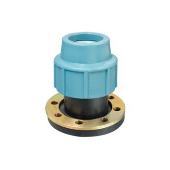 PP Flanged Adaptor Italy Compression Pipe Fittings