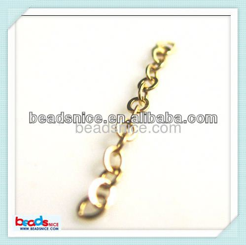 Beadsnice ID 26005 14 kt. Gold Fill Chain 2X1.5X0.2mm 14k gold filled