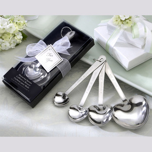 Love Beyond Measure Heart Measuring Spoons Wedding Giveaway Gifts