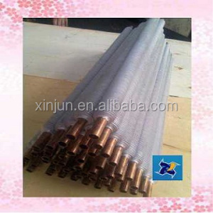 copper tubes aluminum fin ( heat exchange part )