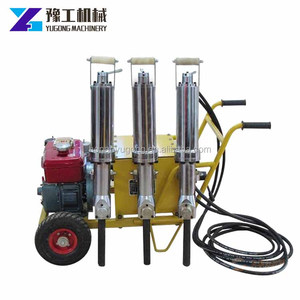 Similar to Darda hydraulic rock splitter