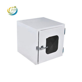 Factory price China manufacturer pharmaceutical cleanroom stainless steel pass thru box
