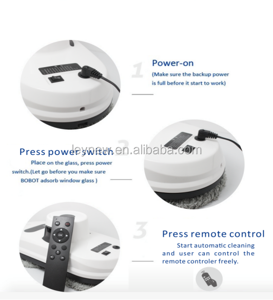 Intelligent Home Appliances Window Vacuum Cleaner Strong Attraction Mop  Automatic Cleaning Robot - Buy Window Vacuum Cleaner Robot,Automatic  Cleaning