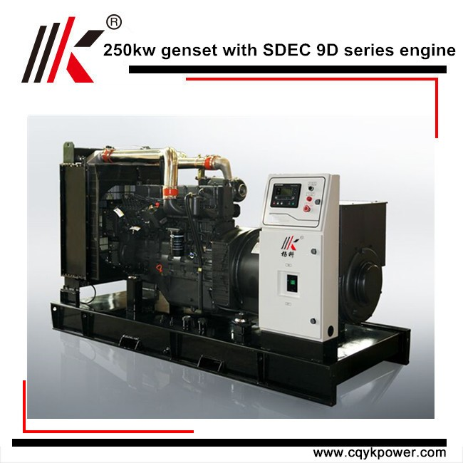 200KW DIESEL GENERATOR WITH 5MW POWER PLANT AND CAT MARINE ENGINE