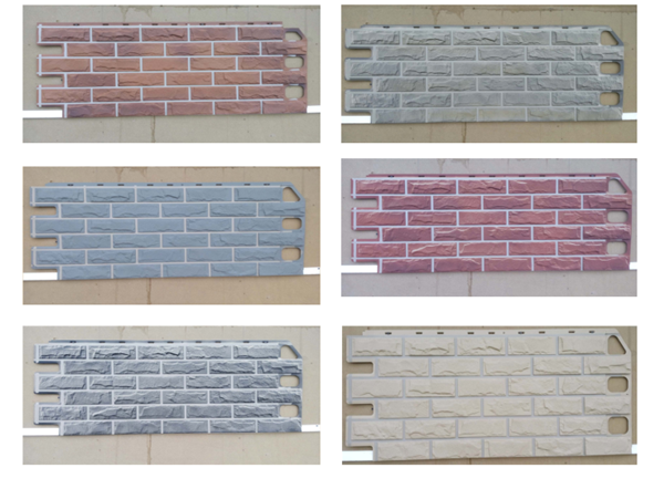 Faux Stone Wall Panel Brick Siding Panel Plastic Wall