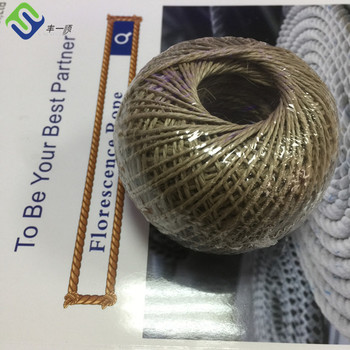 Produce manufactory yarn produced by the hemp-jute industry
