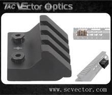 Vector Optics 45 Degree Offset Picatinny Rail Mount For Keymod Handguard Side Flashlight Laser Hunting Accessories