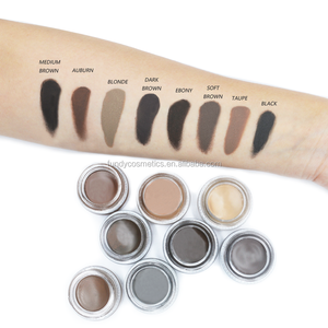 Private label makeup eyebrow best selling products eyebrow gel waterproof brow pomade 8 colors