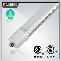 FY LIGHTING 8 FT Led T8 Tube Light Single Pin External Driver