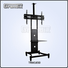 "Fits for 25""-55"" screens,universal plasma tv floor moving stand"