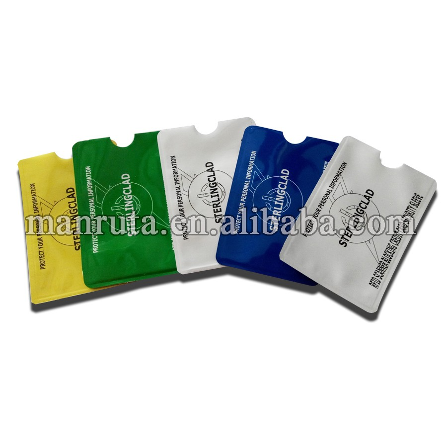 online wholesale aluminum rfid passport and credit card holders rfid blocking function protect your card information safe