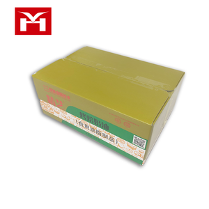 recycled high quality folding customized size food cake tissue corrugated packaging paper box