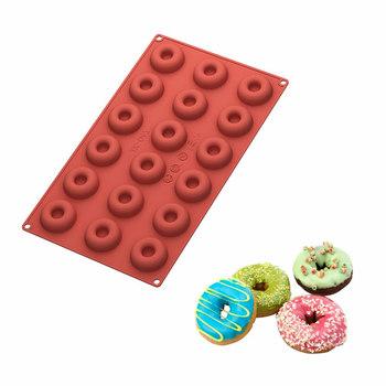 18 Cavity Mini Donut Pan Kuchen Backen Ring Biskuitform Diy