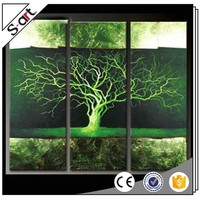 Wholesaler original design group abstract tree oil painting