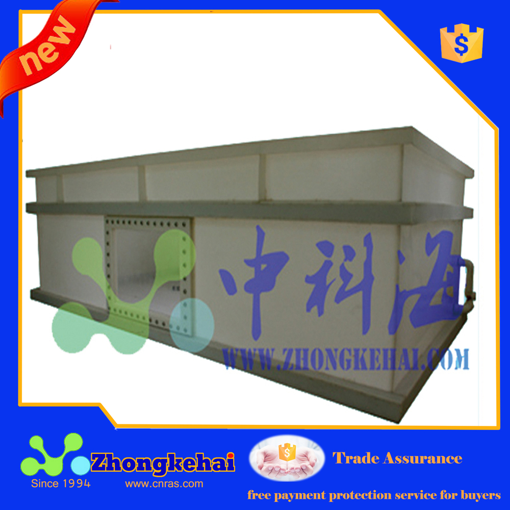 Professional aquaculture water treatment equipment, PP tank