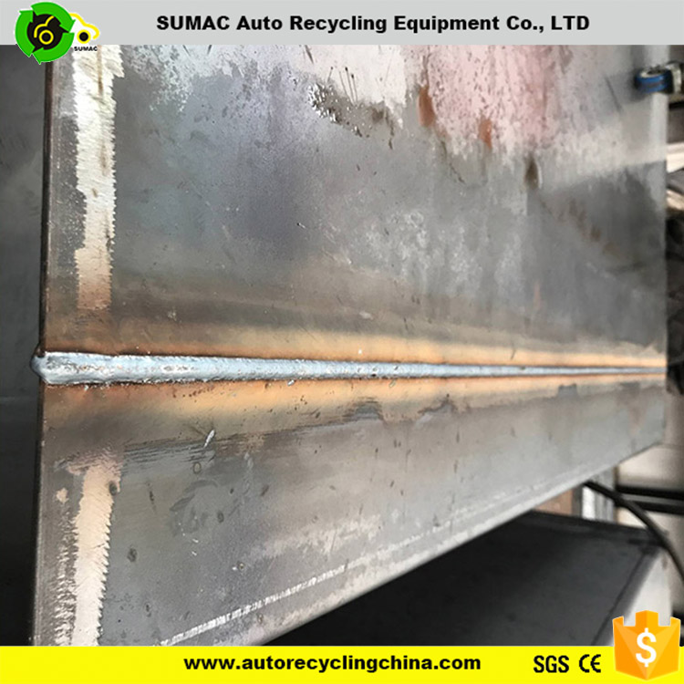 Recycling oil fuel tank