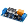 LED Display Digital Delay Timer High Performance Timer Relay Module Automation Control Relay Switch Module 3V/3.7V/4.5V/5V/6V