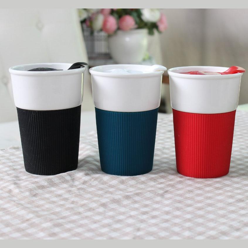 Mug Sleeve Ceramic Tumbler Coffee