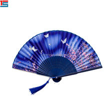 Cinese Promozionale Ventaglio di Carta A <span class=keywords><strong>Mano</strong></span> Stampati Personalizzati Folding Fan <span class=keywords><strong>Mano</strong></span>