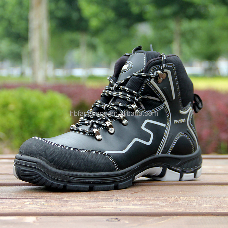 shoes China nubuck cheap cut price high black safety xqaH8Fw