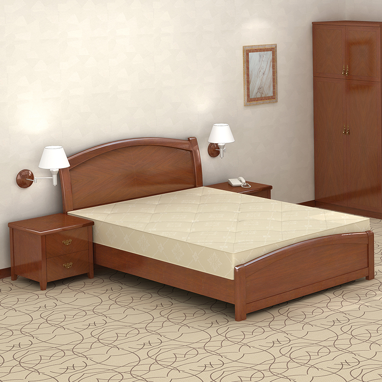 Cheapest Dubai Bed Furniture Solid Wood Single Bed Wood