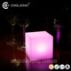 waterproof IP68 wireless 16 Color adjusted Furniture LED Cube table light lamp For Pub