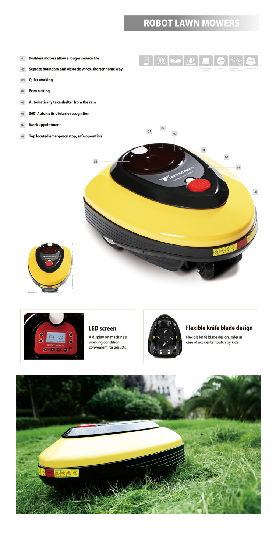 2015 Best Prices Grass Mower Robotic Diy Intelligence