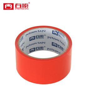 High quality red clear BOPP packing tape adhesive tape products