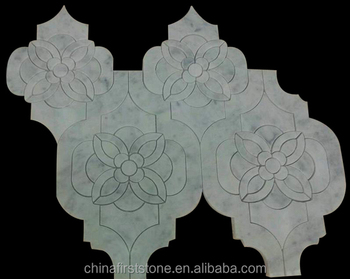 Fsmt-297 Waterjet Mosaic Flower Patterns