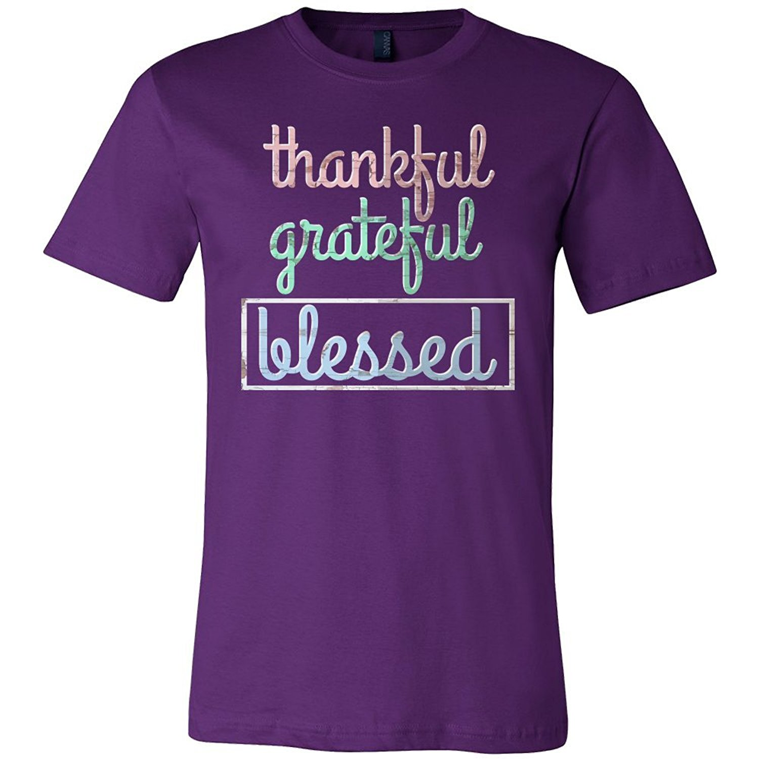 Inspiring Life Quotes Tee Shirt Thankful,Grateful,Blessed Inspirational Quote T Shirt