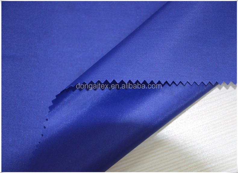 Waterproof Fabric Durable 210D Oxford Poyester Repellent Outdoor Fabric Lightweight PU Coated Fabric