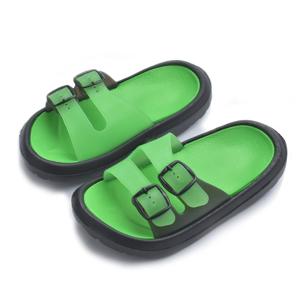 fe3201f5f784f Get Quotations · Cyiecw Toddler Little Kid Walking Sandals Non-Slip Beach  Shoes Lightweight Shower Pool Slippers