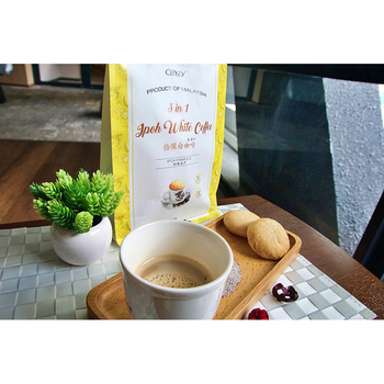 Malaysia Ipoh smooth taste thick Arabica beans 3in1 coffee