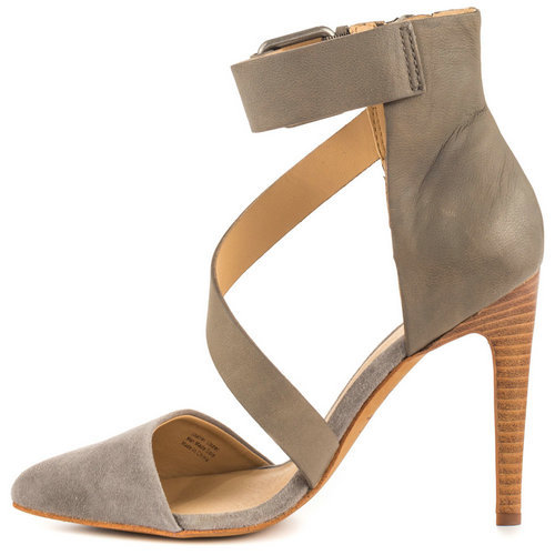 e0ee03aca4d7 Get Quotations · Nude Pumps Flock Rubber Zipper Buckle Fashion Cover Heel  Thin Heel Women Shoes 2015 Hot Summer