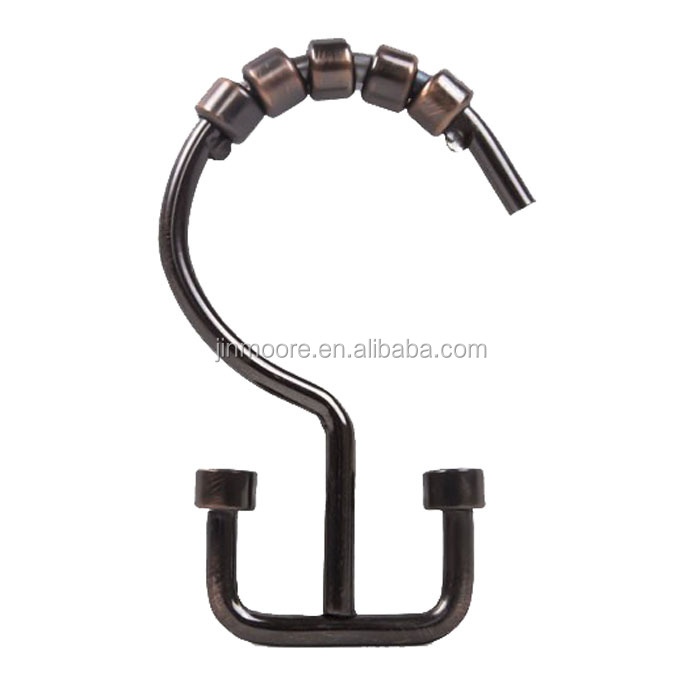 Shower Curtain Hooks, Shower Curtain Hooks Suppliers And Manufacturers At  Alibaba.com