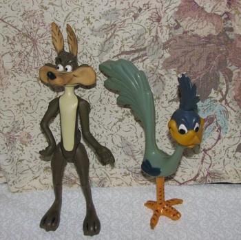 1968 Warner Bros Wiley Coyote & Roadrunner Plastic Figurines 1960's Toy -  Buy Plastic Figurine Toys,Plastic Figurine Toys,Plastic Figurine Toys