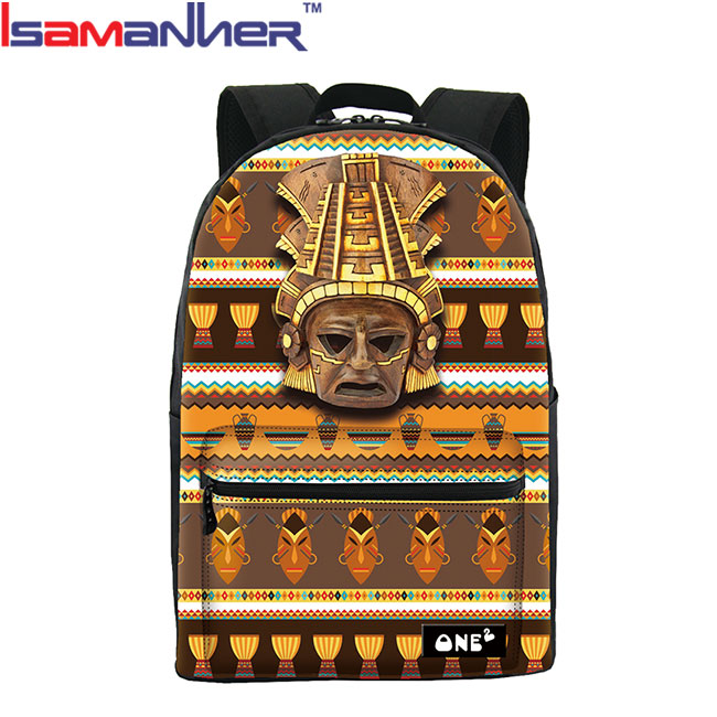 3D egyptian pyramids casual backpack, new model backpack designer college bags